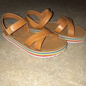 Other - Girls size 12c rainbow sandals